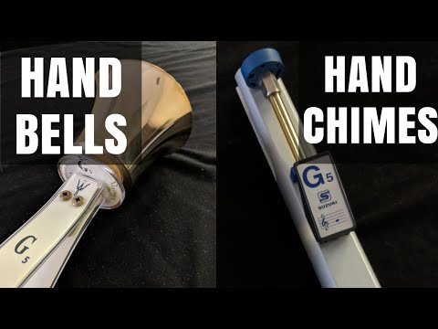 Difference Between Handbells and Handchimes | Hand Bells vs. Hand Chimes Mp3