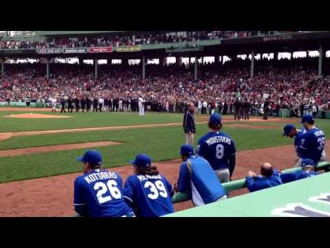 "Royals players enjoy David Ortiz's ""This is Our Fucking City"" speech - April 20, 2013"