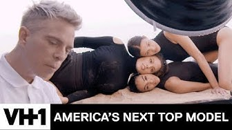"""Ashley Graham & the Models Pose In A """"Beauty Sandwich"""" Photoshoot 