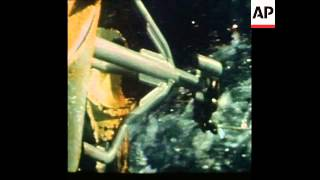 SYND 30 12 75 ICELANDIC GUNBOAT AND BRITISH FISHING TRAWLERS OFF COAST OF ICELAND