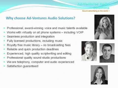 Telephone On Hold Music & Messages Leader | Ad-Ventures Audio Solutions