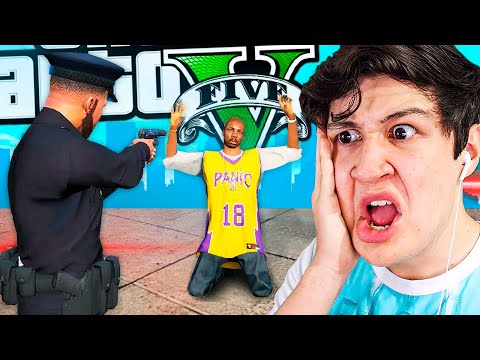 JUEGO GTA 5 Como POLICÍA! Grand Theft Auto V - GTA V Mods