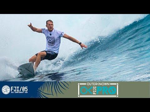 Kelly Slater vs. Mick Fanning vs. Bede Durbidge - Round One, Heat 12 - Outerknown Fiji Pro 2017
