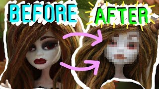 Download Vielle The Succubus Doll Abbey Bominable Monster High Repaint!