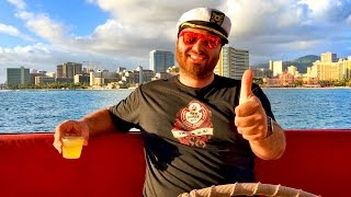 CAPTAIN HIKE : I Lost My GoPro in the Ocean! - HikeTheGamer In Hawaii #2