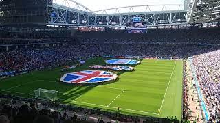 Iceland anthem 🇮🇸 Spartak stadium. World cup 2018