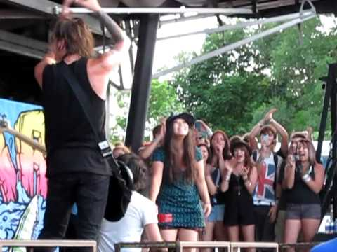 Marriage Proposal at We Came As Romans Show - Montreal Warped Tour 2011