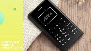 aIEK/AEKU X7 Mini Mobile Phone