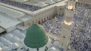 المسجد النبوي الشريف من السماء