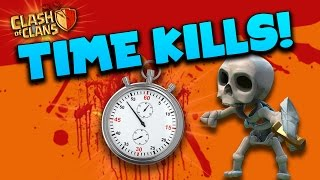 "Clash of Clans: ""Is 3 Minutes Enough!?""... Time Kills!"