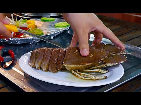 Thumbnail: Vietnam Street Food - LIVE BALMAIN LOBSTER Garlic Butter | Sashimi