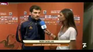 World Cup 2010 Most Shocking Moments 31-Iker and Sara Cabonara