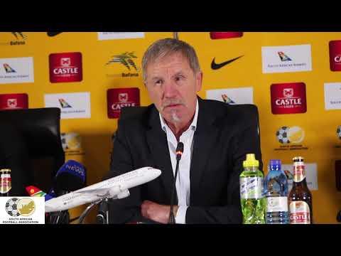 Stuart Baxter on Bafana Bafana