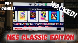 NES Classic Edition - HACKED! - Which 60 Games Did I Add?