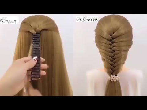Hair Braiding Tools & Techniques 😱 New Amazing Hair Transformations | June 2018