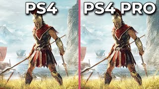 Assassin's Creed Odyssey – PS4 vs. PS4 Pro Frame Rate Test & Graphics Comparison