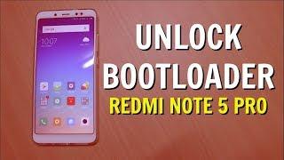 Unlock Bootloader Redmi Note 5 Pro - Fix 86006 Mi Unlock Error
