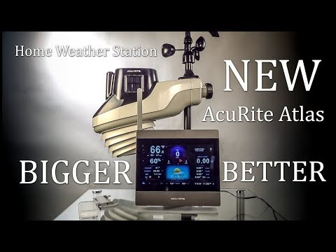 Backyard Weather Station Setup and Review NEW AcuRite Atlas