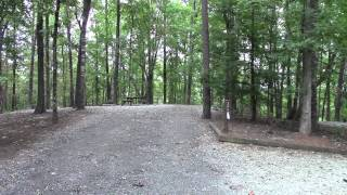 RV Camping at Keowee-Toxaway State Park SC
