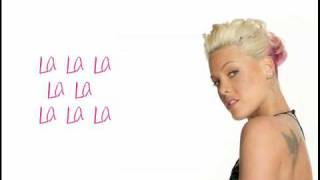 Pink-Glitter in the air (Lyrics)