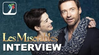 Les Miserables Interview - Anne Hathaway and Hugh Jackman Exclusive: BlackTree