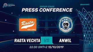 RASTA Vechta v Anwil Wloclawek - Press Conference - Basketball Champions League 2019-20