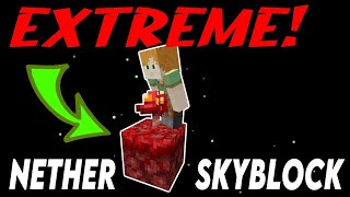 ONLY 2 blocks! [ProtoSky] EXTREME 1.16 Nether Skyblock Ep.0