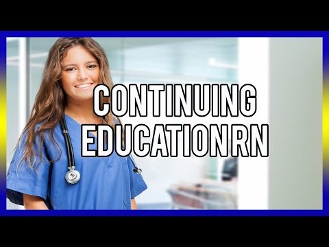 Continuing Education For RN