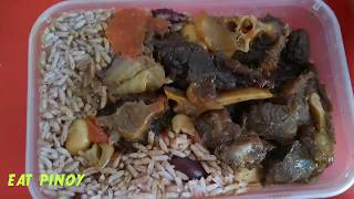 Jamaican Oxtail stew with Rice & Peas | Jamaica spice bakery