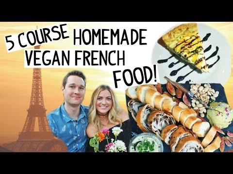 Trying VEGAN French Food!