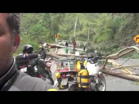 Around the world on motorcycle. South America Part 1 of 6