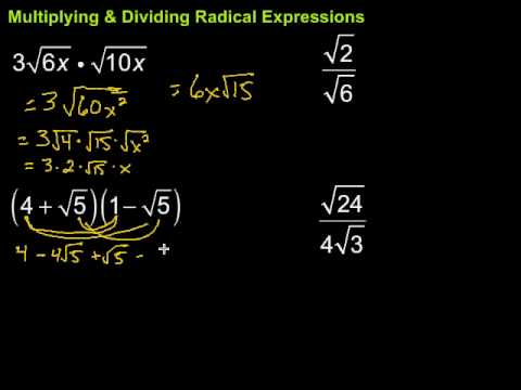 math worksheet : multiplying  dividing radical expressions  youtube : Multiplication And Division Of Radicals Worksheets
