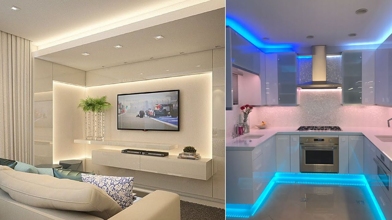 Top 100 Recessed Lighting Ideas For Modern Home Interior Design 2020 Youtube