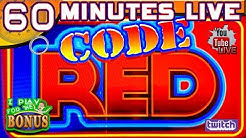 🔴 60 MINUTES LIVE ★ CODE RED BALLY SLOT MACHINE ➜ THE NEW CURVE MONITOR HAS ARRIVED!