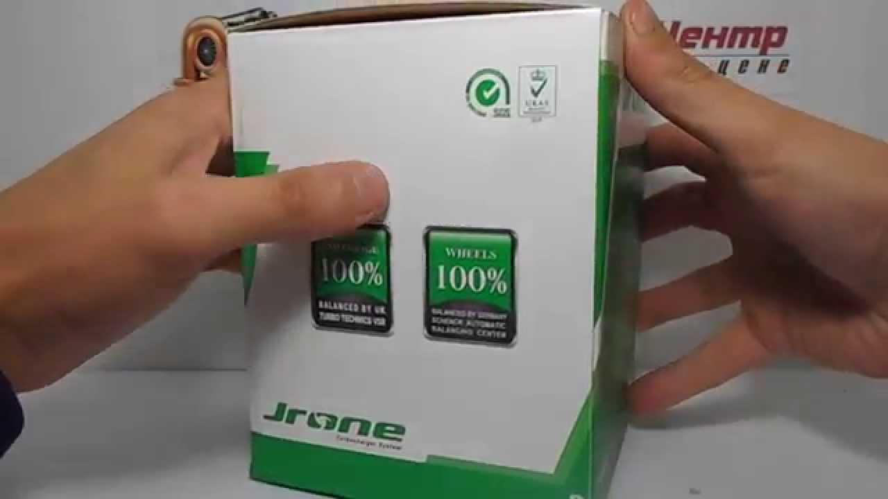 Распаковка картриджа (CHRA) турбины Jrone. Китай. unboxing