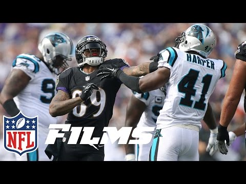 Steve Smith Faces the Panthers for the First Time as a Raven |  A Football Life | NFL Films