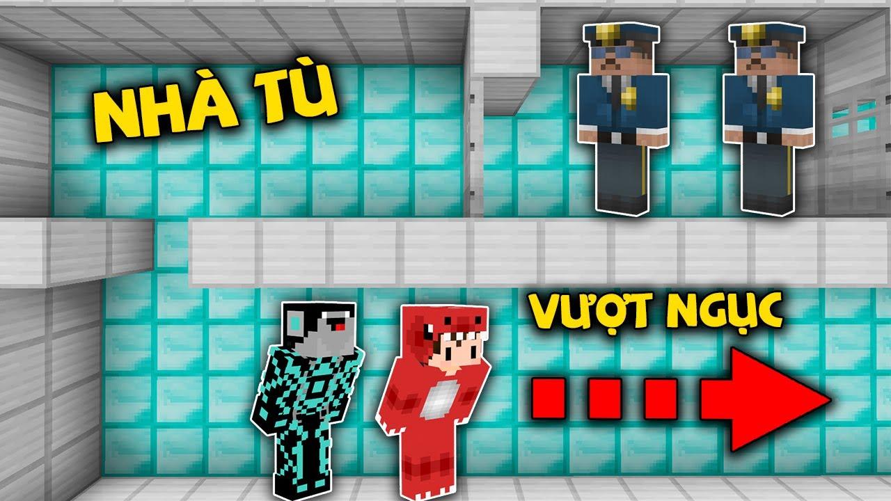 Rex Và Noob Công Nghệ Bị Bắt Đi Tù Vì Ăn Cắp Kim Cương Trong Minecraft !!