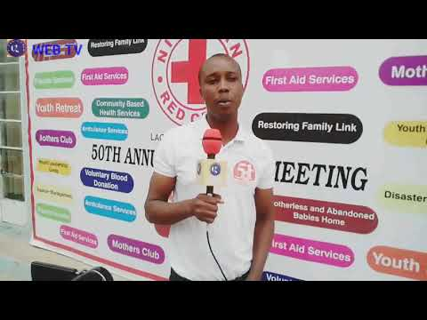 Presentation and lunching of the Global Humanitarian Network Web TV @the Nigerian Redcross Lagos Sta