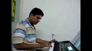My First Video on Keyboard.. Kangal Irandal....