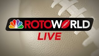 Fantasy Football Advice NFL Week 7 QampA  ROTOWORLD LIVE