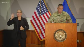 Gov. Tim Walz names new Minnesota National Guard leader