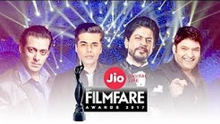 62nd filmfare awards 2017 || Salman khan & Shahrukh khan masti in Filmfare Awards show 2017