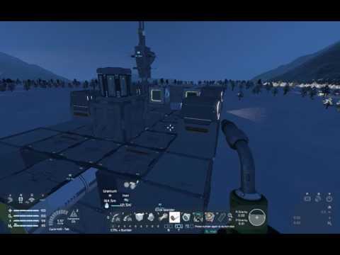 Space Engineers Mining Barge