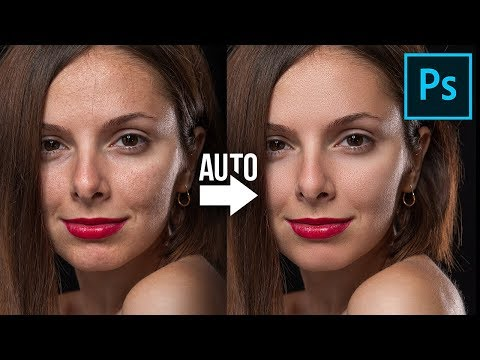 The BEST Automatic Skin Softening Photoshop Action!