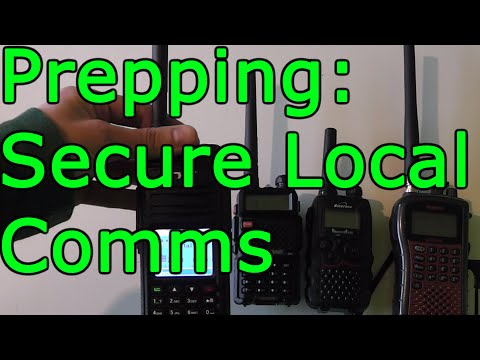 Prepping: Radios For Local SHTF Comms