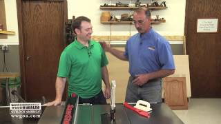 Woodworking Tips: Table Saw Safety For Beginning Woodworkers
