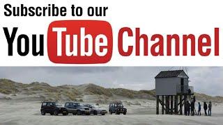 driving on the beach of terschelling.. strandrijden.... HD