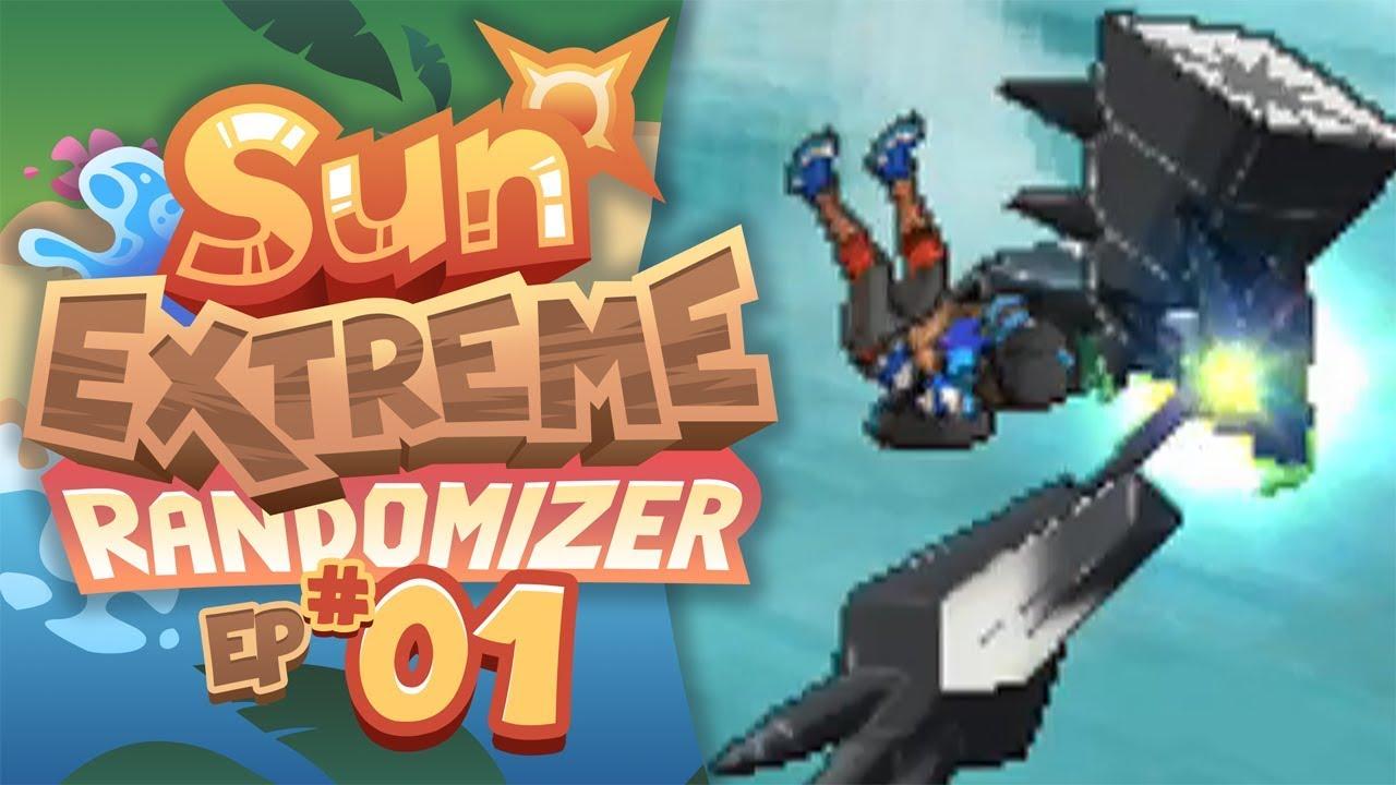 ✨ Pokemon sun extreme randomizer rom download   Universal