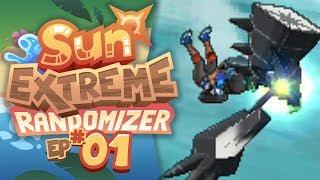 NECROZMA...SAVES US?! - Pokémon Sun Extreme Randomizer (Episode 1)