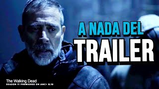 The Walking Dead Temporada 11 A Nada Del Trailer- Comic Con - FTWD - WB Paneles Horarios
